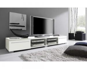 meuble-tv-napia-panneaux-particules-design-laque-blanc-brillant-deux-niches-deux-etageres-verre