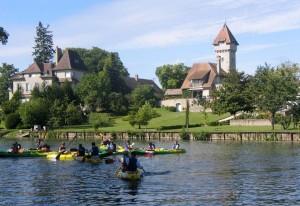 sortie en canoe