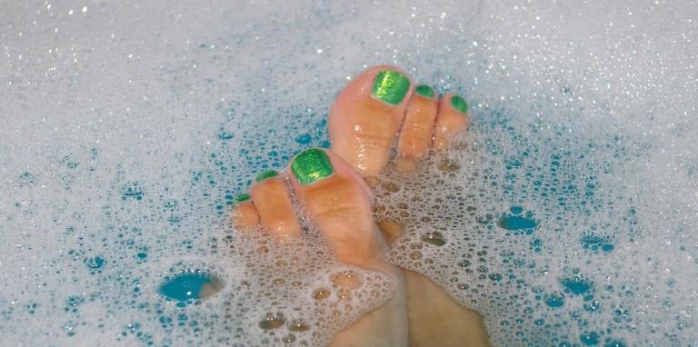 Santé - pieds - bain