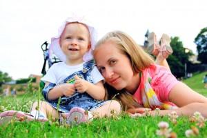nanny et enfant