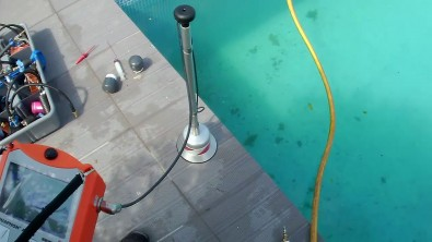 fuite dans une piscine