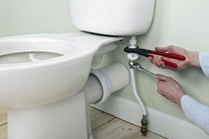toilette qui fuit