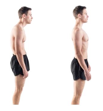 personne qui a une bonne posture