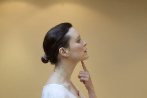 eliminer le double menton yoga visage
